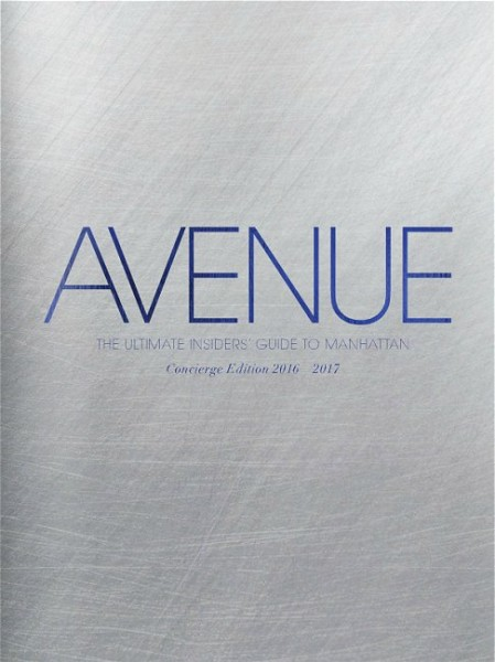 AVENUE - Concierge Edition 2016