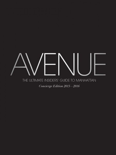 AVENUE - Concierge Edition 2015